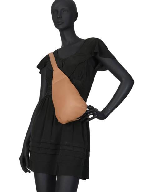 Shoulder Bag  Leather Crinkles Brown 80261 other view 2