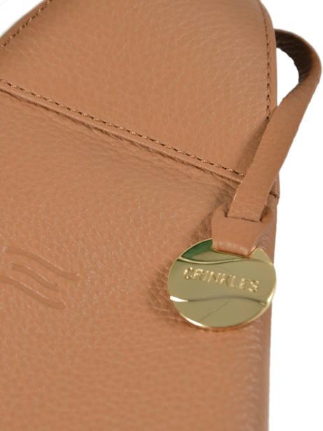 Shoulder Bag  Leather Crinkles Brown 80261 other view 1