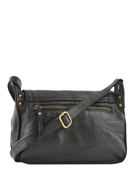 Leather Crossbody Bag Seventies Basilic pepper Black seventies BSEV02 other view 4