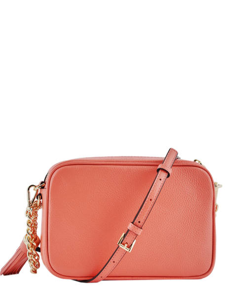 Shoulder Bag Ginny Leather Michael kors Pink crossbodies F7GGNM8L other view 4