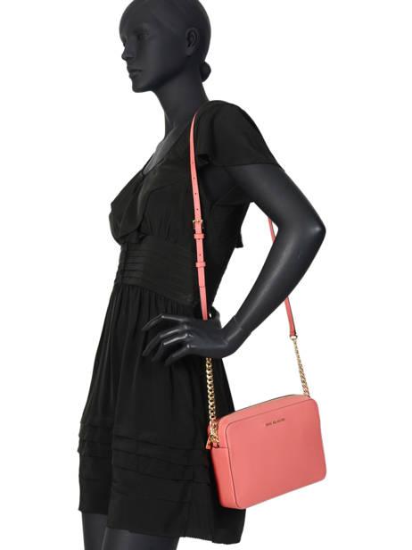 Crossbody Bag Jet Set Travel Leather Michael kors Pink crossbodies S4GTVC3L other view 2