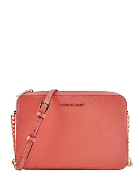 Crossbody Bag Jet Set Travel Leather Michael kors Pink crossbodies S4GTVC3L