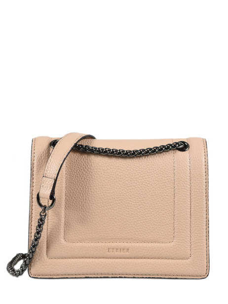 Crossbody Bag Delicate Leather Etrier White delicate EDEL03