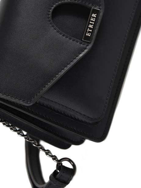 Crossbody Bag Escarpe Leather Etrier Black escarpe EESC02 other view 1