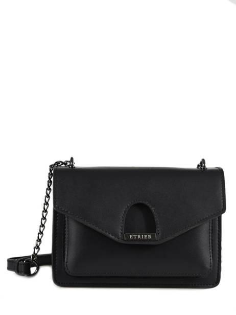 Crossbody Bag Escarpe Leather Etrier Black escarpe EESC02