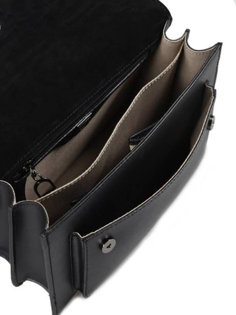 Top Handle Escarpe Leather Etrier Black escarpe EESC01 other view 5