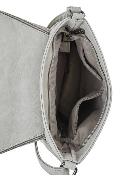 Shoulder Bag Pompon Miniprix Gray pompon F305 other view 3