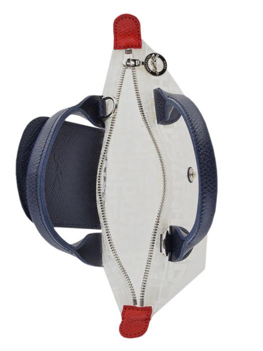 Longchamp Le pliage lgp transparent Handbag White