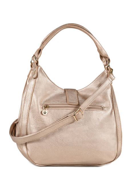 Sac Porté épaule New Soft Lulu castagnette Rose new soft MONNA vue secondaire 2
