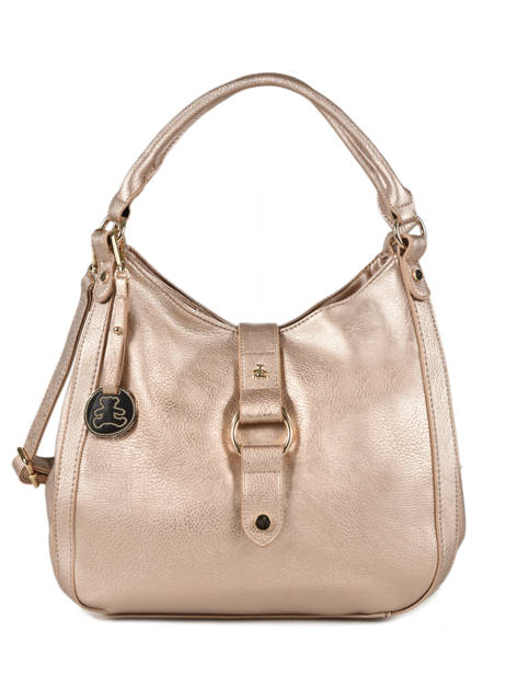 Sac Porté épaule New Soft Lulu castagnette Rose new soft MONNA