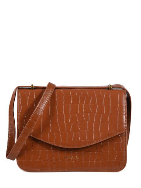 Leather Hermione Crossbody Bag Nat et nin Multicolor croc HERMIONE