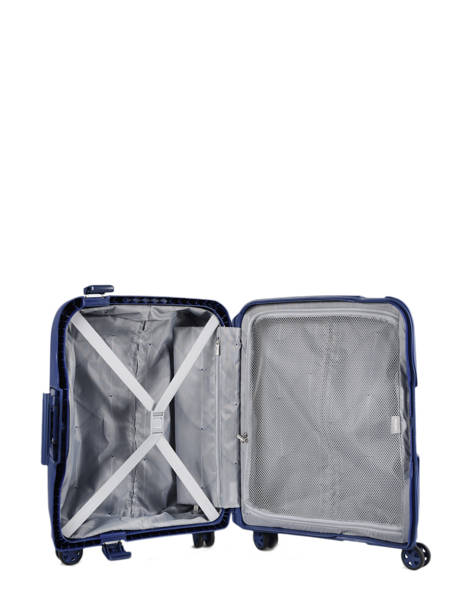 Cabin Luggage Delsey Blue moncey 3844803B other view 5