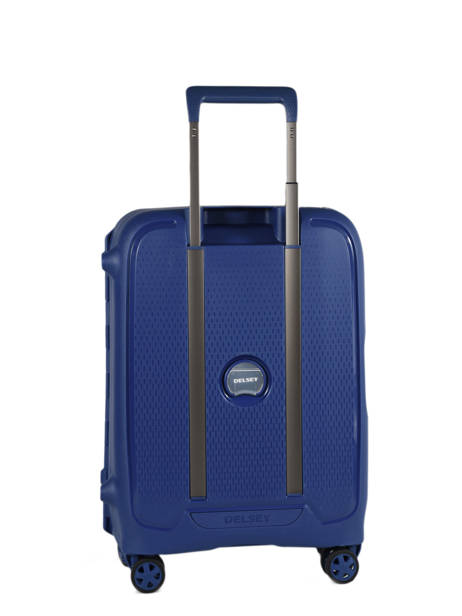 Cabin Luggage Delsey Blue moncey 3844803B other view 4