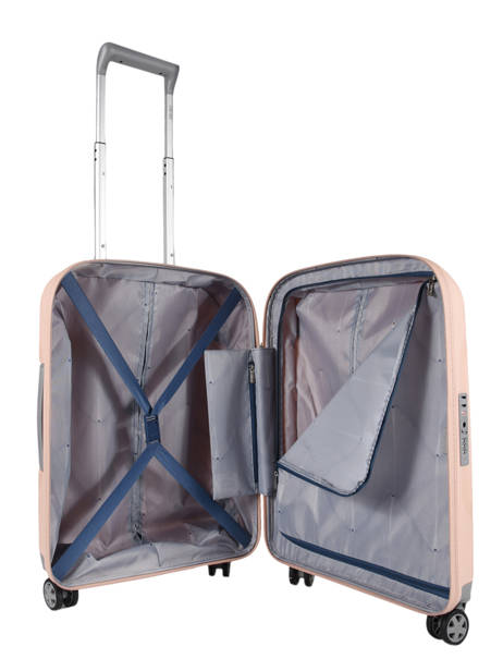Cabin Luggage Delsey Pink clavel 3845803 other view 5
