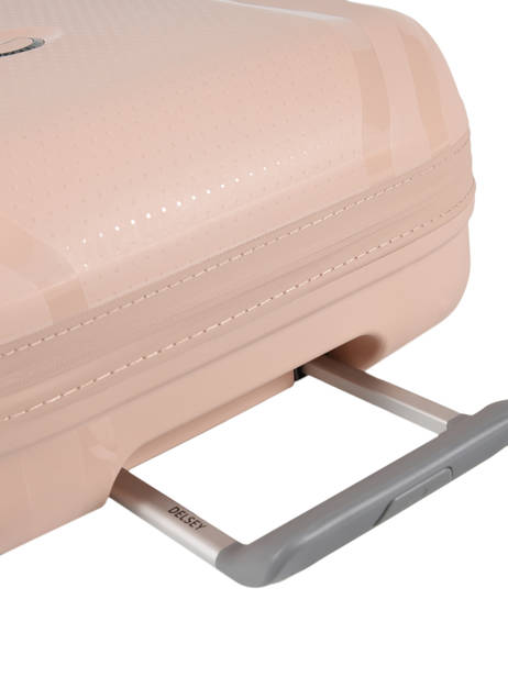 Cabin Luggage Delsey Pink clavel 3845803 other view 2