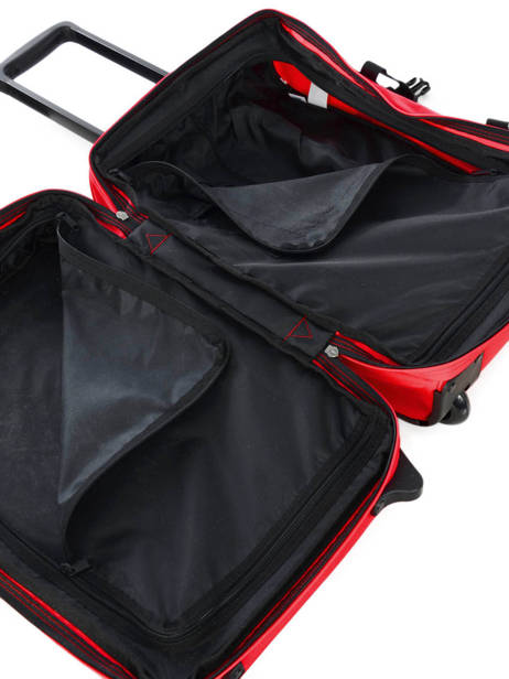 Cabin Luggage Softside Eastpak Red authentic luggage K61L other view 4
