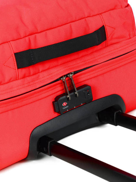 Cabin Luggage Softside Eastpak Red authentic luggage K61L other view 1