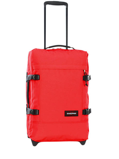 Cabin Luggage Softside Eastpak Red authentic luggage K61L