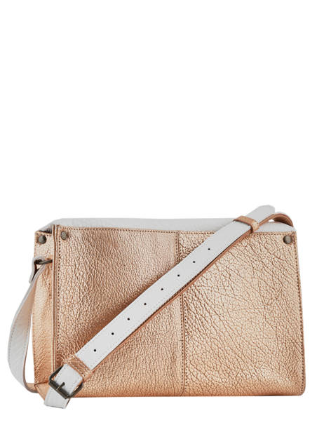 Shoulder Bag Vintage Leather Paul marius White vintage INDISPEN other view 3