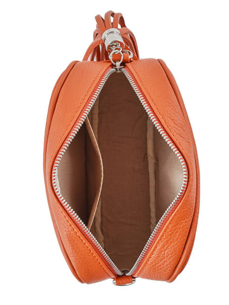 Crossbody Bag  Leather Milano Orange CA160613 other view 3