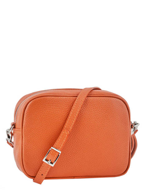 Crossbody Bag  Leather Milano Orange CA160613 other view 2