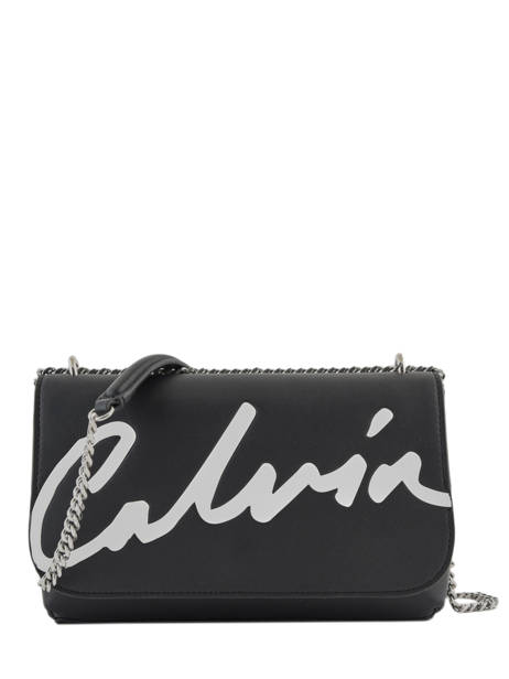 Sac à Main Denim Signature Calvin klein jeans Noir denim K606572