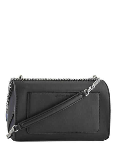 Sac à Main Denim Signature Calvin klein jeans Noir denim K606572 vue secondaire 3
