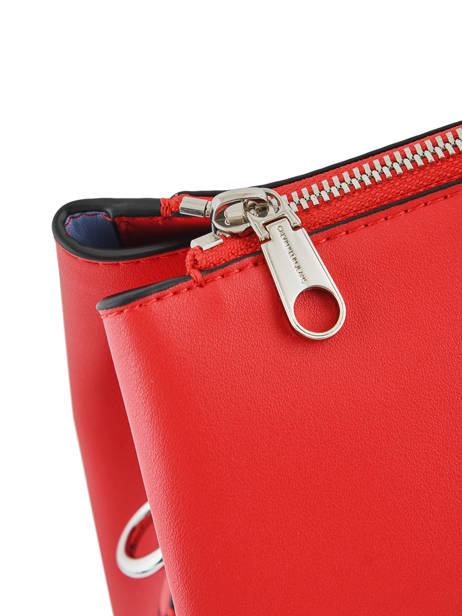 Sac à Main Denim Signature Calvin klein jeans Rouge denim K606575 vue secondaire 1