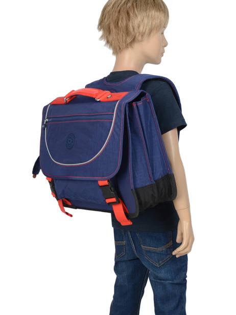 Cartable 2 Compartiments Kipling Bleu back to school 12074 vue secondaire 2