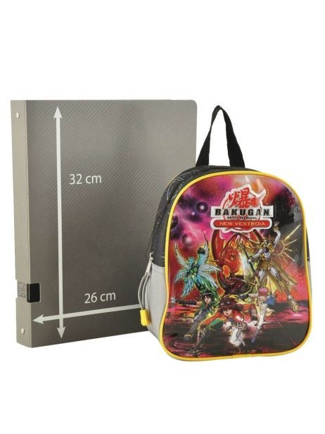 Backpack Bakugan Multicolor battle brawlers 56154VES other view 3