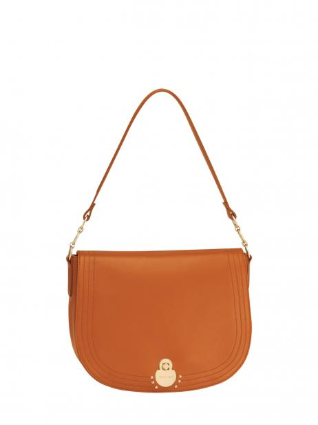 Longchamp Alezane Besaces Orange