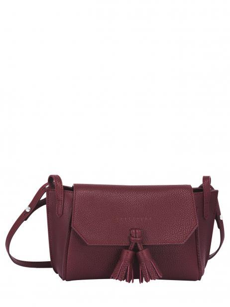 Longchamp Pénélope Sacs porté travers Rouge