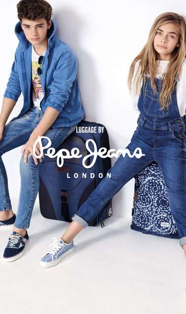 bas prix b48de c1c3d Cartable Pepe Jeans et sac Pepe Jeans au meilleur prix