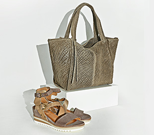 Milano bag and Mjus sandals