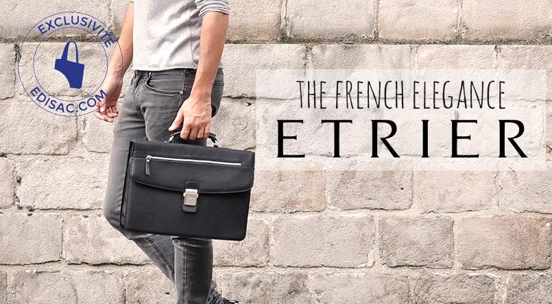 sac business leather etrier