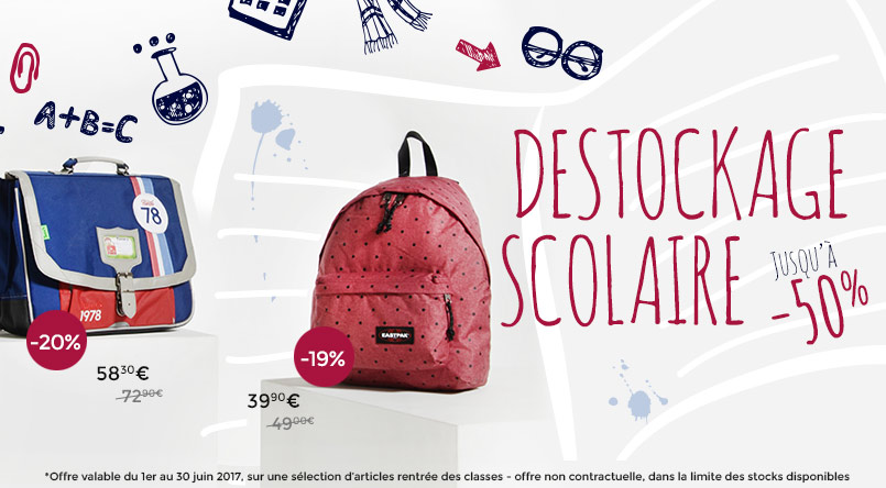 promotion cartable sac a dos scolaire