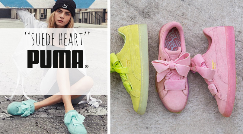 puma suede heart couleurs