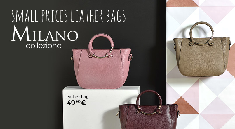 leather bag milano