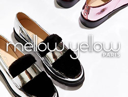 chaussures basket bottines mellow yellowr