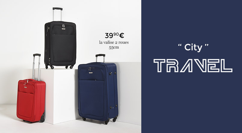 bagages travel pas cher