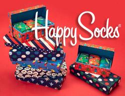 chaussettes idees cadeaux noel happy socks