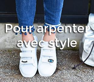 chaussures baskets femme