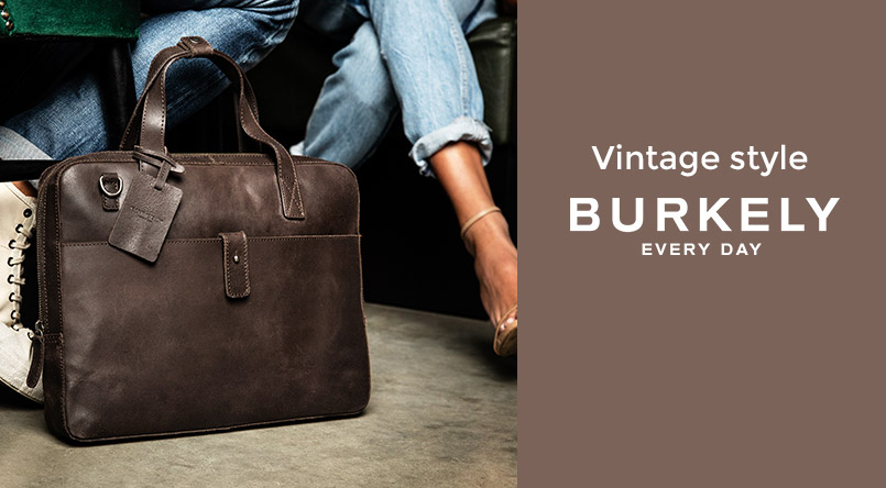 sac business cuir burkely