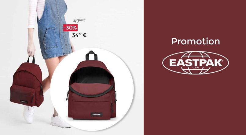 sac a dos eastpak promo